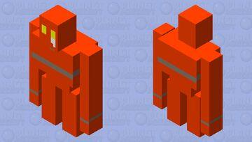 Sad Robot Minecraft Mob Skin