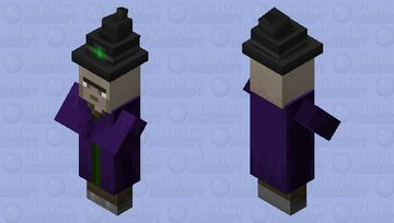 noseless witch (noseless edition) Minecraft Mob Skin