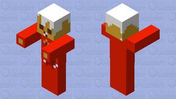 The Mc Monster Series: Fryer Dyer Minecraft Mob Skin