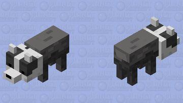 European Badger (Modified) Minecraft Mob Skin