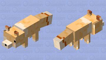 Mana [Vtuber AikoKabeya's Fox] Minecraft Mob Skin