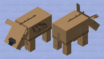 Andrewsarchus | Prehistoric Mob Contest Entry Minecraft Mob Skin