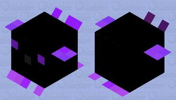 Ender Pufferfish (A Little Bloated) Minecraft Mob Skin