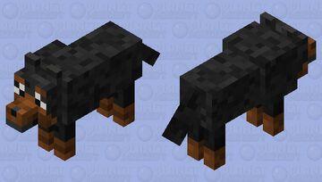 Dog Reskin Minecraft Mob Skin