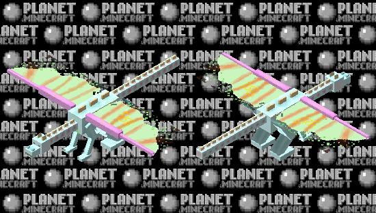 Neon/pastel Ender Dragon Minecraft Skin