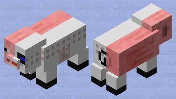 Cyborg Pig Minecraft Mob Skin