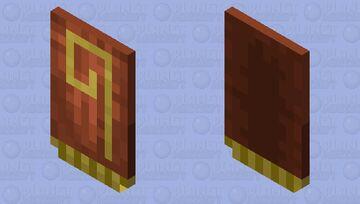 Cape for Windcaller / V.2 / for Minecraft Dungeons Minecraft Mob Skin