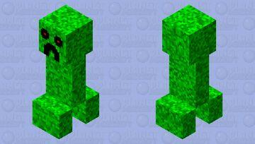 creeper HD Minecraft Mob Skin