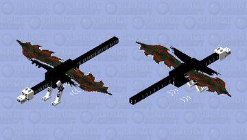 asriel dreemurr angel of death Minecraft Mob Skin