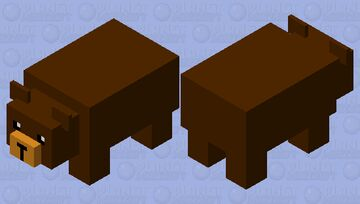 Refract bear Minecraft Mob Skin
