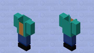 SCP-347 Minecraft Mob Skin