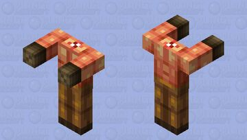 Beheaded Kamikaze from Serious Sam game series Minecraft Mob Skin