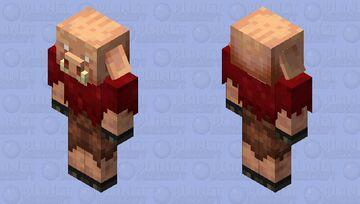 Better Piglin / Re-texturing / from Crimson Forest Minecraft Mob Skin