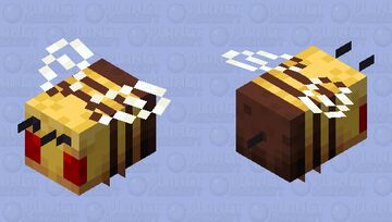 -~- When You Destroy a Bee's Home -~- Minecraft Mob Skin
