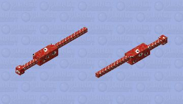 Flesh wall (Little Nightmares II) Minecraft Mob Skin