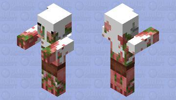 Creamy pigman Minecraft Mob Skin