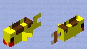 Small Pikafish Minecraft Mob Skin