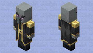 The Mage Illager (Retexture) (Ver.2) (Variant 4) Minecraft Mob Skin