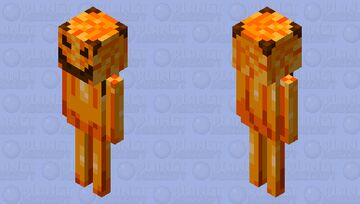 Halloween Skeleton Skin Minecraft Mob Skin