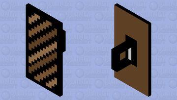 Animal Print Shield Minecraft Mob Skin