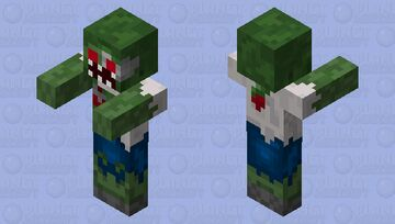 Zombie (Pixel Gun 3D) Minecraft Mob Skin