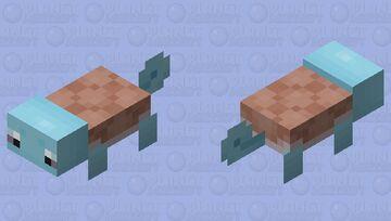 Squirtle (axolotl) Minecraft Mob Skin