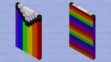 Pride flag Minecraft Mob Skin