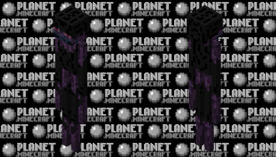Infected Enderman Minecraft Skin