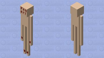 Fan art (Trevor Henderson) Minecraft Mob Skin
