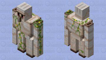 Iron Golem Minecraft Mob Skin