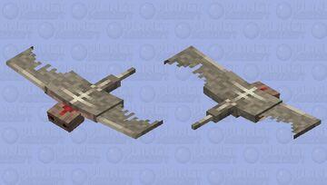 Pterodactyl (Phantom reskin) Minecraft Mob Skin