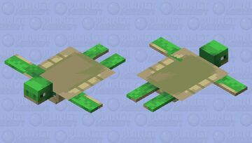 poor shelles turtel Minecraft Mob Skin