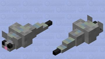 Little Grey Mouse Minecraft Mob Skin