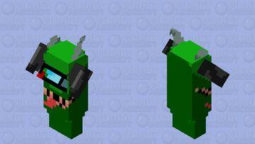 Green imposter - Xillager skin Minecraft Mob Skin