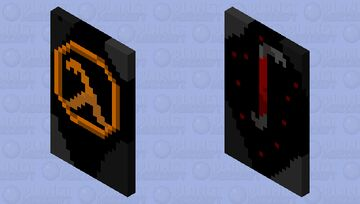Crowbar Cape Minecraft Mob Skin