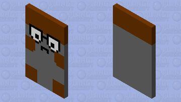 Walleye cape Minecraft Mob Skin