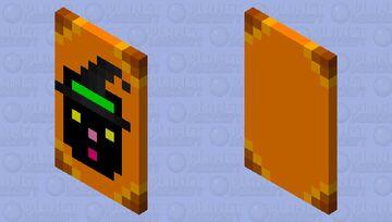 Witch Cat Cape Minecraft Mob Skin