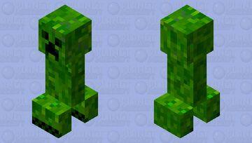 JAVA/BEDROCK Smoother Creeper Minecraft Mob Skin