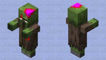 Updated Zombie Villager Minecraft Mob Skin