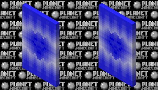 Hacker / Blue Cape Minecraft Skin