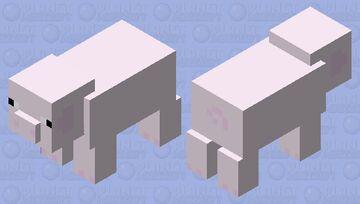 pale pig Minecraft Mob Skin