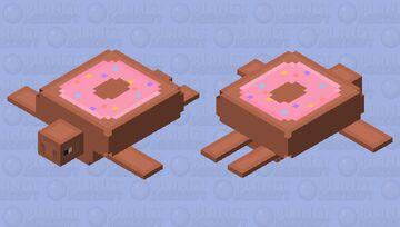 Donut Turtle Minecraft Mob Skin