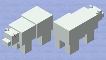 Polar bear 2.0 Minecraft Mob Skin
