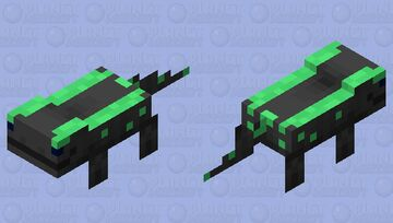 salamander / Black and Green / my version Minecraft Mob Skin