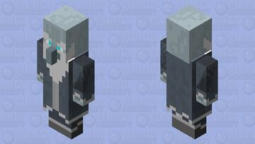 Icy Wizard Minecraft Mob Skin