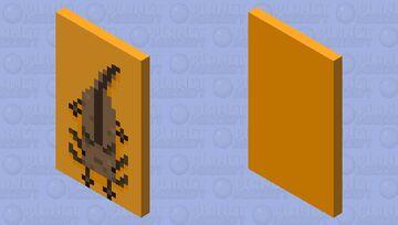 Brown axolotl Minecraft Mob Skin
