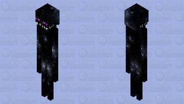 Space Enderman Minecraft Mob Skin