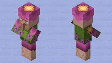 Lush Villager (Updated) Minecraft Mob Skin