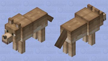 волк Minecraft Mob Skin