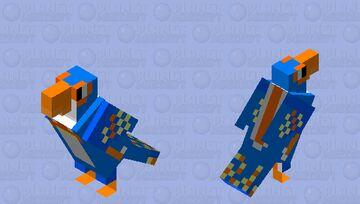 Dino dan/trek/Dana microraptor Minecraft Mob Skin